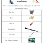 Music: 'Peter and the Wolf' Worksheets