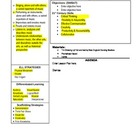 Music Specialist Lesson Plan Template