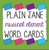 Music Term Cards- Perfect for Word Walls- Can be Printed o