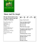 Music and the Jungle Freebie
