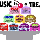 Music is a Treat Bulletin Board-National Music Standards