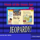 Music of the Stone Age Jeopardy Game (2nd Grade Treasures Story)