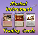 Musical Instrument Trading Cards