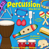 Musical Instruments: Classroom Percussion Instruments Clip Art