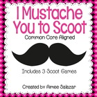 Mustache Scoot Bundle {Contractions, Adjectives/Adverbs, P