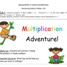 Mutliplication & Division Adventure! - Common Core Math Games