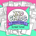 My 2nd Grade Memory Book - End of the Year Activity