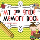 My 2nd Grade Memory Book {End of the Year}