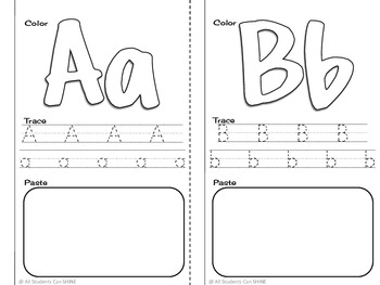 My A-Z Book - Alphabet Literacy Activity