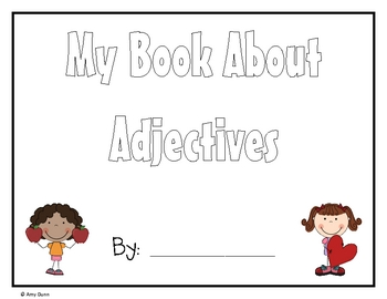 My Adjective Book- Student Books for Adjectives!