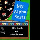 My AlphaSorts Complete Alphabet Beginning Sound Sorts