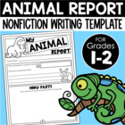 My Animal Report {Student Research Template}