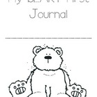 My &quot;Beary&quot; First Journal 