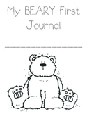 "My ""Beary"" First Journal"