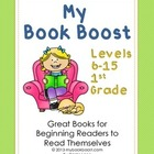 My Book Boost Levels 6-15