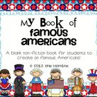 My Book of Famous Americans