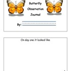 My Butterfly Observation Book (science journal)