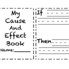 My Cause &amp; Effect Book - 3 Versions