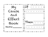 My Cause & Effect Book - 3 Versions