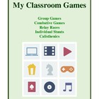 My Classroom Games, Physical Education Activities