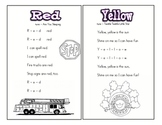My Color Word Song Book