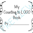 My Counting To 1,000 Book by Johnson Creations
