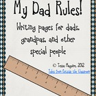 My Dad Rules!  Father&#039;s Day (and other special people) Writing