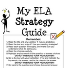 My ELA Strategy Guide