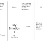 My Emotions Book--Bilingual (English/Spanish)