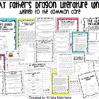 My Father&#039;s Dragon Literature Unit- Aligned to the Common Core