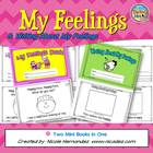 My Feelings Mini Book and Writing About Feelings Mini Book