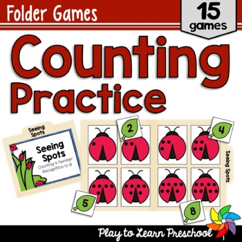My First Counting Games - 15 Number Identification and Counting Activities