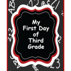 My First Day in Third Grade Poem