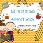 My First Grade Memory Book {End of the Year}