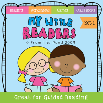 My First Readers - Emergent Reading + Games + Worksheets