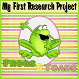 My First Research Project: Frogs and Toads
