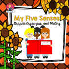 My Five Senses Graphic Organizers
