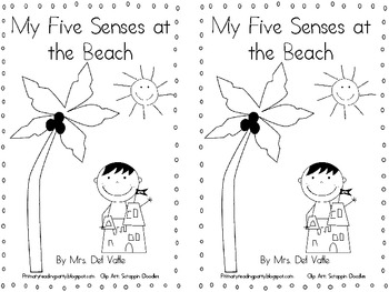 My Five Senses at The Beach Book