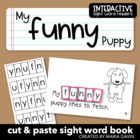 "Interactive Sight Word Reader ""My Funny Puppy"""