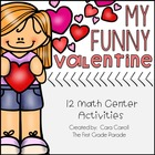 My Funny Valentine & Friends {12 Math Tub Activities}