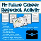 My Future Career Research Lesson - Combo Packet Common Core LA