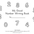 My Good Number Writing Book to 10