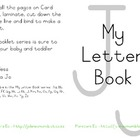 My Letter Book Series:  Letter J