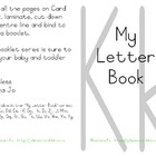 My Letter Book Series:  Letter K