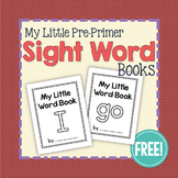 My Little Sight Word Book FREEBIE: I