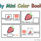 My Mini Color Books
