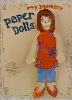 My Mommy Paper Dolls