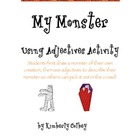 My Monster Adjective Writing Activity