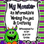 My Monster ~ An Informative Writing Project & Craftivity