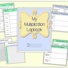 My Multiplication Lapbook:  Vocabulary, Properites, and St